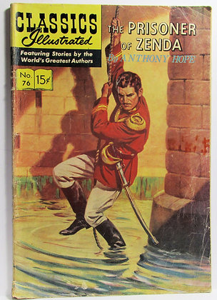 CLASSICS Illustrated (Oct. 1950, No. 76) The PRISONER of ZENDA