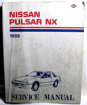 NISSAN PULSAR NX 1988 SERVICE MANUAL
