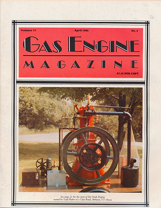 Gas Engine Mag.  April 1986