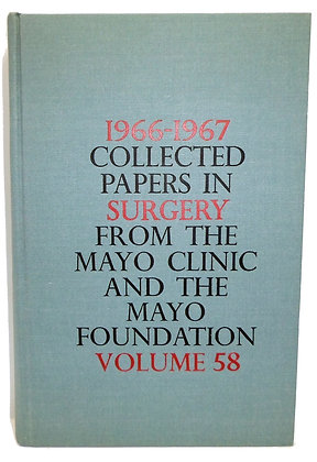 1966-1967 Collected Papers Mayo Clinic