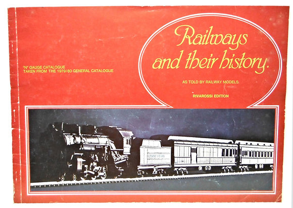"""Railways and their history - """"N"""" Gauge Catalogue"""