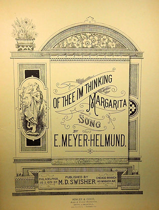 Of Thee I'm Thinking Margarita Song 1889