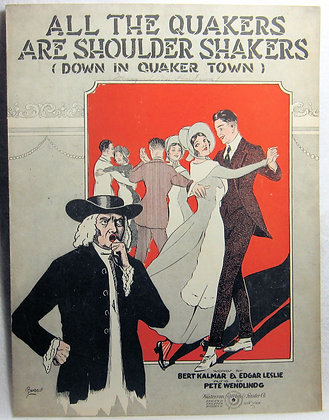 All The Quakers Are Shoulder Shakers 1919