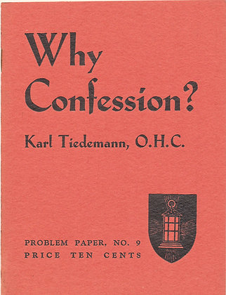 Why Confession Problem Paper #9