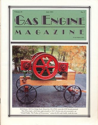 Gas Engine Mag.  July 1993