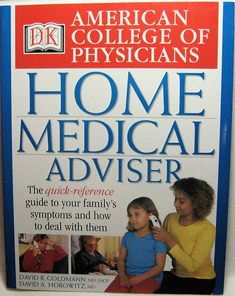 American College of Physicians Medical Adviser 2002