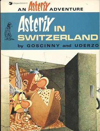 Asterix in SWITZERLAND by Goscinny & Uderzo 1975