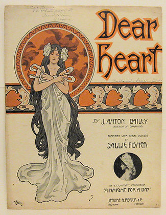 Dear Heart J. ANTON DAILEY 1908