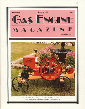 Gas Engine Mag.  January 1988