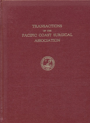Pacific Coast Surgical 1970
