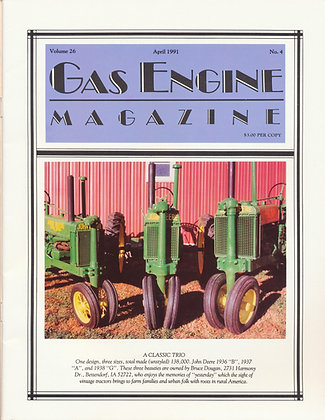 Gas Engine Mag.  April 1991