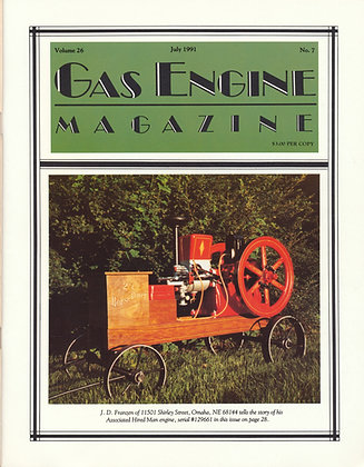 Gas Engine Mag.  July 1991