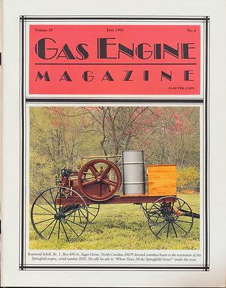 Gas Engine Mag.  June 1995