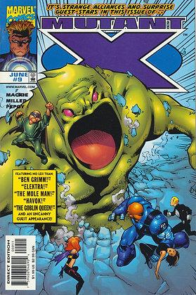 Mutant X, #9- 1999