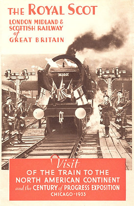 Royal Scot Scottish Railway 1935