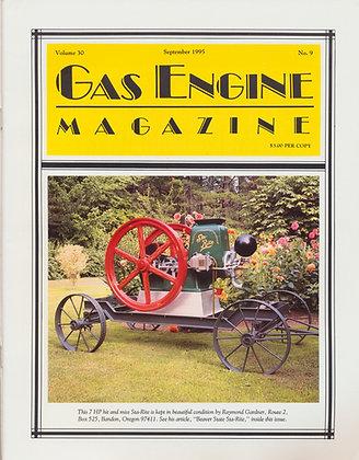 Gas Engine Mag.  September 1995