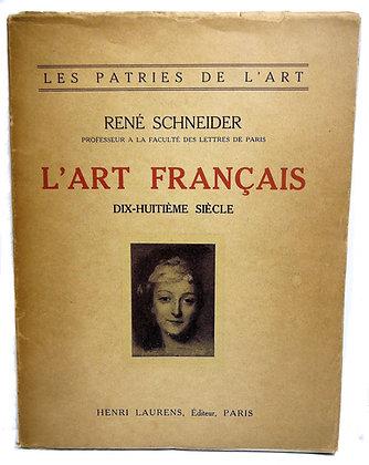 Les Patries De L'Art Schneider 1926 (French)