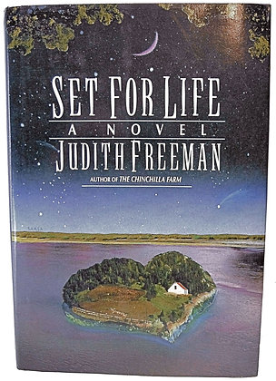 Set for Life (A Novel) by Freeman 1991 Signed w/Jacket