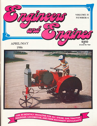 Engineers & Engines, April-May 1986