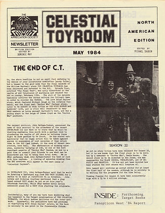 Celestial Toyroom Doctor Who May 1984