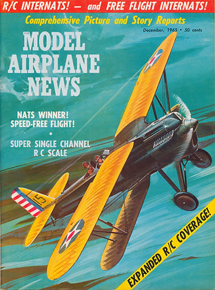 "Model Airplane News (Dec. 1965) ""Berliner-Joyce P-16"" Fighter"