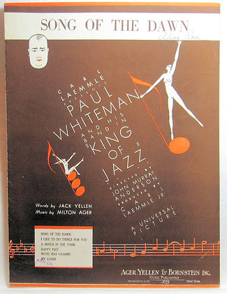SONG OF THE DAWN (Jazz) 1930