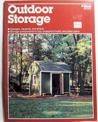 Outdoor storage (The Ortho library) Lucke