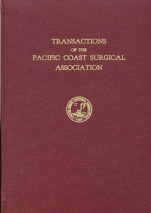 Pacific Coast Surgical 1969