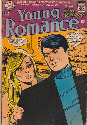 Young Romance #151, - 1967