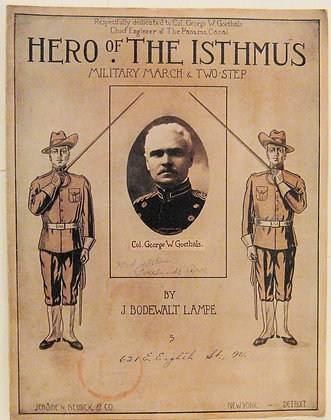 HERO OF THE ISTHMUS MILITARY MARCH & TWO STEP 1912