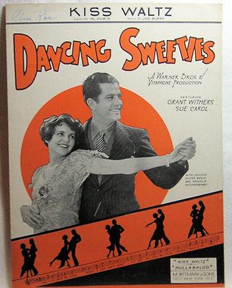 KISS WALTZ DANCING SWEETIES 1930