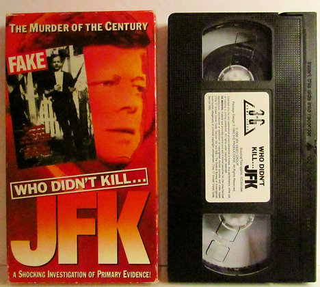 WHO DIDN'T KILL JFK: A Shockinig Investigation of Primary Evidence! 1992 VHS
