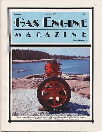 Gas Engine Mag.  October 1985