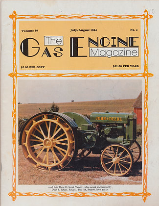 Gas Engine Mag.  July-August 1984