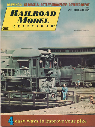 Railroad Model Craftsman, February 1975