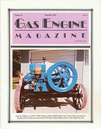 Gas Engine Mag.  September 1992