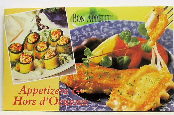Bon Appetit Appetizers & Hors D'Oeuvres