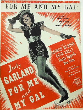 For Me And My Gal Judy Garland 1947