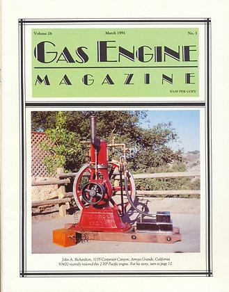 Gas Engine Mag.  March 1991