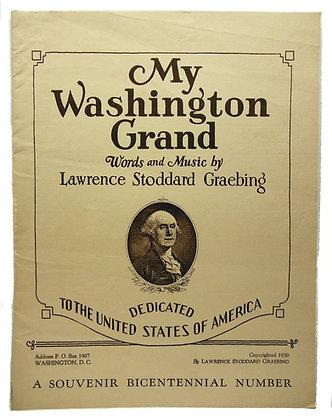 My Washington Grand Graebing 1930