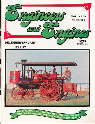 Engineers & Engines, Dec.-Jan. 1988-89