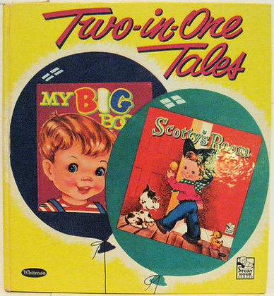 My Big Book & Scotty's Room (Giant Tell-A-Tale#2254) 1962