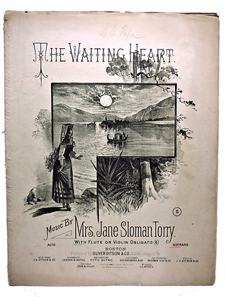Waiting Heart (Flute or Violin) 1882