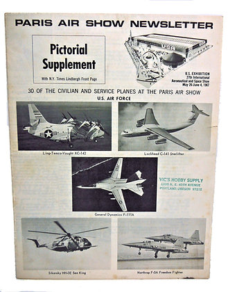 PARIS Air Show Newsletter 1967