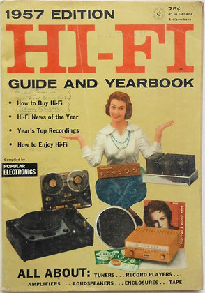1957 Edition HI-FI Guide and Yearbook