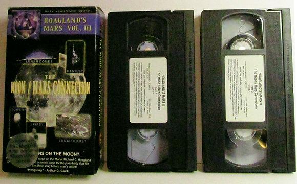 Hoagland's Mars (Vol. 3): The Moon / Mars Connection 2000 (2 VHS Set)
