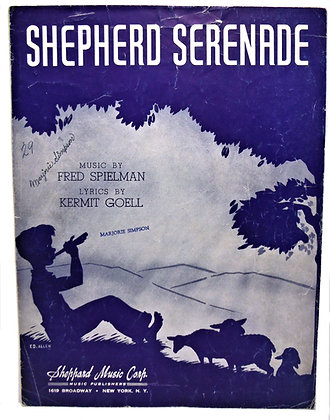 Shepherd Serenade by Spielman 1941