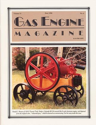 Gas Engine Mag.  June 1996