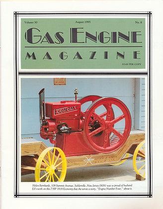 Gas Engine Mag.  August 1995