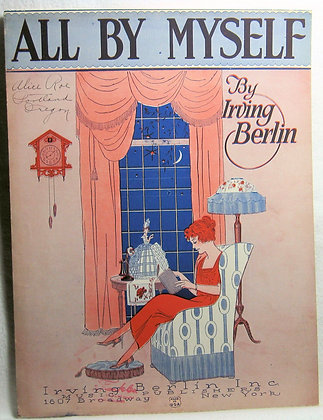 ALL BY MYSELF IRVING BERLIN 1921